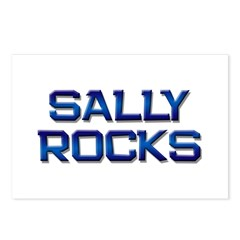 sally rocks Postcards (Package of 8)