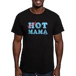Hot Mama Men's Fitted T-Shirt (dark)
