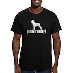 got rottweiler? Men's Fitted T-Shirt (dark)