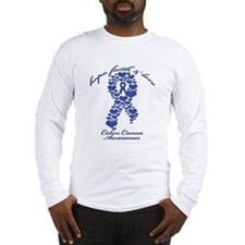 Colon Cancer Awareness Long Sleeve T-Shirt