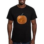 Owl O'Lantern Men's Fitted T-Shirt (dark)