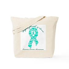 Hope, Faith and Love Ovarian Tote Bag