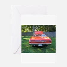 Plymoutn Duster Greeting Card