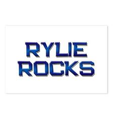 rylie rocks Postcards (Package of 8)