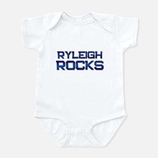 ryleigh rocks Infant Bodysuit