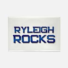 ryleigh rocks Rectangle Magnet