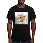 Baby Fox Men's Fitted T-Shirt (dark)