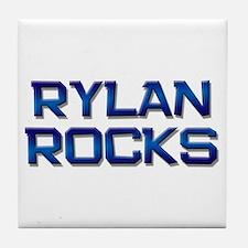 rylan rocks Tile Coaster