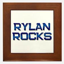 rylan rocks Framed Tile