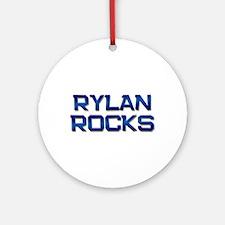 rylan rocks Ornament (Round)