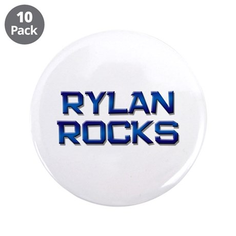 "rylan rocks 3.5"" Button (10 pack)"
