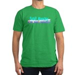 TOP Sail Away Men's Fitted T-Shirt (dark)