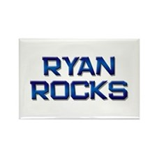 ryan rocks Rectangle Magnet