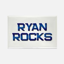 ryan rocks Rectangle Magnet