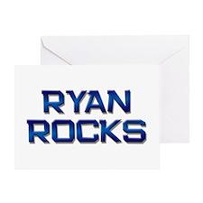 ryan rocks Greeting Card