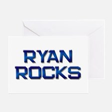 ryan rocks Greeting Card