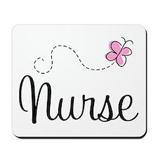 Nurse Gift Butterfly Mousepad