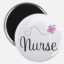 Nurse Gift Butterfly Magnet