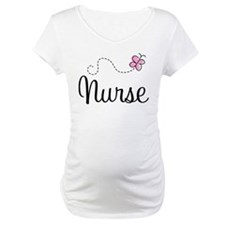Nurse Gift Butterfly Shirt
