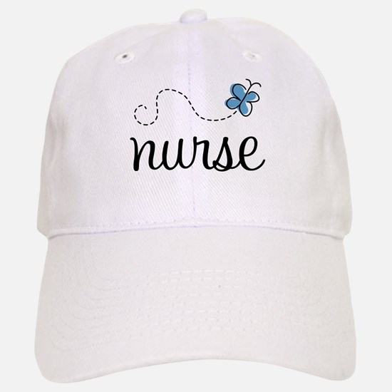 Nurse Gift Butterfly Baseball Baseball Cap