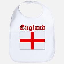 England (written) Flag Bib