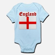 England (written) Flag Infant Creeper