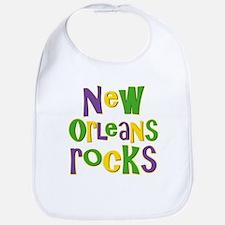 New Orleans Rocks Bib