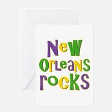 New Orleans Rocks Greeting Card