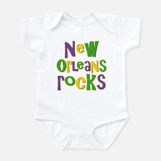 New Orleans Rocks Infant Bodysuit
