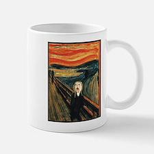 Ferret Scream Munch Mug