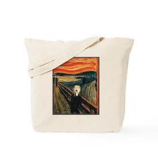 Ferret Scream Munch Tote Bag