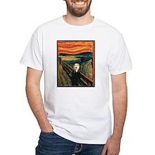 Ferret Scream Munch Shirt