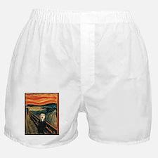Ferret Scream Munch Boxer Shorts