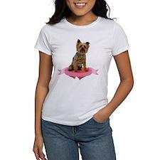 Silky Terrier Valentine Tee