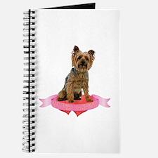 Silky Terrier Valentine Journal