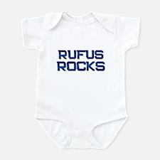 rufus rocks Infant Bodysuit