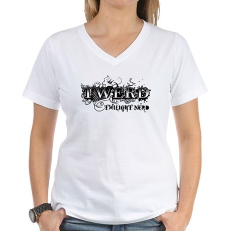 Twerd Women's V-Neck T-Shirt