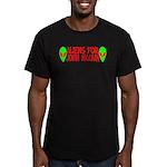 Aliens For John McCain Men's Fitted T-Shirt (dark)