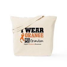 Leukemia Grandson Tote Bag