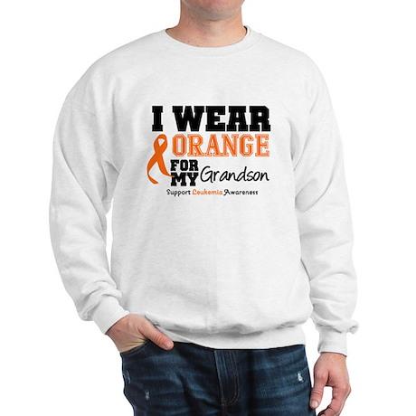 Leukemia Grandson Sweatshirt