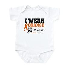 Leukemia Grandson Infant Bodysuit