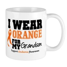 Leukemia Grandson Mug