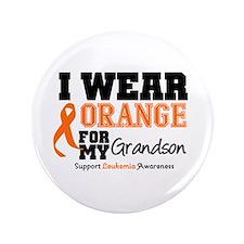 "Leukemia Grandson 3.5"" Button (100 pack)"