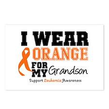 Leukemia Grandson Postcards (Package of 8)
