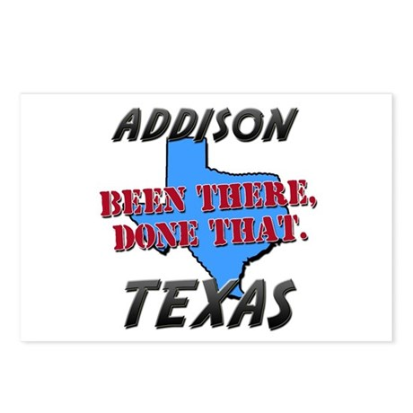 addison texas - been there, done that Postcards (P
