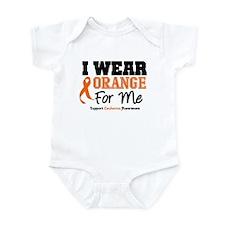I Wear Orange For Me Infant Bodysuit