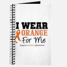 I Wear Orange For Me Journal