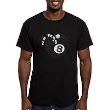 No Fear 8 Ball Men's Fitted T-Shirt (dark)