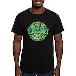 Shake Your Shamrock Men's Fitted T-Shirt (dark)