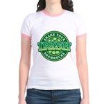 Shake Your Shamrock Jr. Ringer T-Shirt